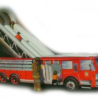 Giant Fire Engine Slide