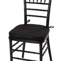 Black Chiavari Ballroom Chair