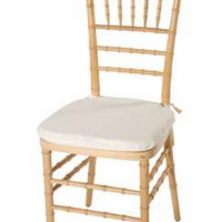 Natural Wood Chiavari Ballroom Chair