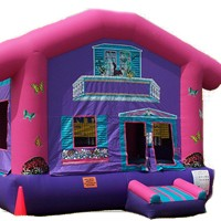 Dollhouse Bouncy Castle