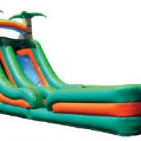 18' Tropical Water Slide