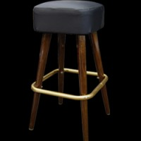 Padded Bar Stool