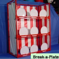 Break a Plate with Carnival Booth