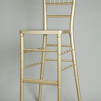 Gold Chivari Bar Stool
