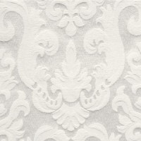 French Brocade White Napkin