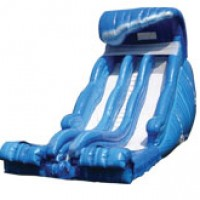 Tsunami Double Lane Water Slide