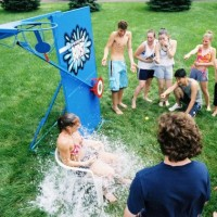Pitchburst Dunk Tank Water Carnival Game
