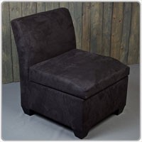 Milan Sectional Balck chair