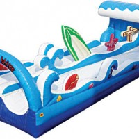 Dual Lane Surf Slip N Slide