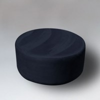 Ultrasuede Small Ottoman