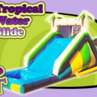 Tropical Water Slide