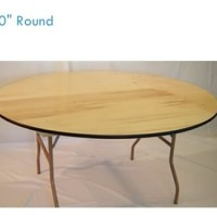 60&quot; Round Table