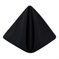 Black Cambridge Dinner Napkin