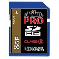 Delkin Devices eFilm 8GB Pro Secure Digital Media Card 150x