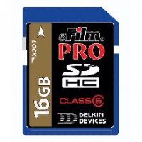 Delkin Devices eFilm 16GB Pro Secure Digital Media Card 150x