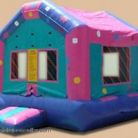 Flower Princess Bounce House