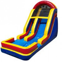 18' Wet Inflatable Slide
