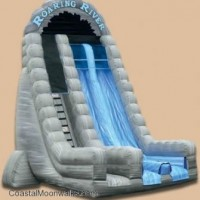 27' Tall Roaring River Dual Lane Dry Slide