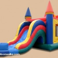 Castle Combo Wet Slide