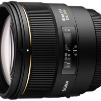 Sigma 85mm f/1.4 EX DG for Canon