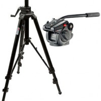 Manfrotto 501HDV Fluid Head with Bogen 475B Tripod