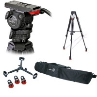 Sachtler FSB-6T Fluid Head with Sachtler 4588 Speed Lock Tripod