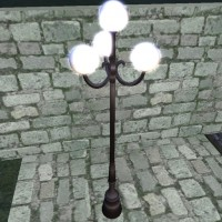4 Globes Street Lamp