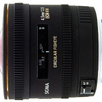 Sigma 4.5mm F/2.8 Fisheye for Nikon