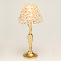 Crystal Brass Table Lamp