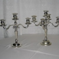 3 Light Candelabra