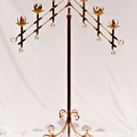 Brass Candleabra