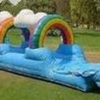Rainbow Slip n Slide