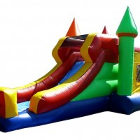 Multicolored Combo Water Slide