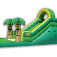 Tropical Theme Waterslide