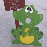 Feed The Frog Bean Bag Toss