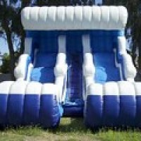 Dual Wave Water Slide