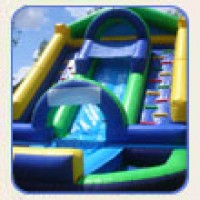 18' Drop Zone Water Slide
