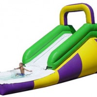 Open Wet Slide