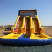 20' Dual Lane Water Slide