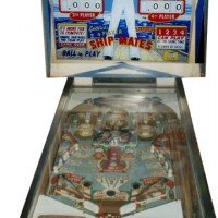 Pinball Machine-Ship Mates