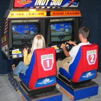 Indy 500 Driving Arcade Game