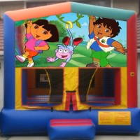 Dora Diego Bounce House