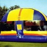 Enclosed Bounce House