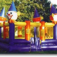 Clown Castle Bouncer