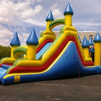 Inflatable Bounce Climb and Slide Combo