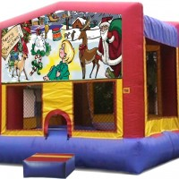Merry Christmas Bounce House