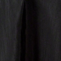 90″ Round Black Satin Back Shantung Linen