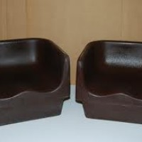 Brown Child Booster Seat