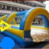 Slip and Dive Water Slide
