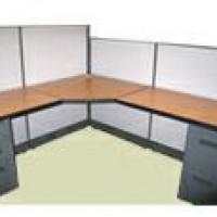 47&quot; H Panels AO2 Clone Cherry Workstation